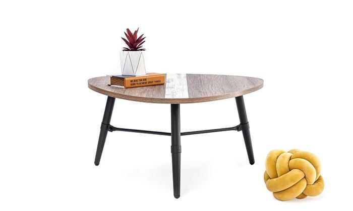 2 שולחן סלון בצורת טיפה
