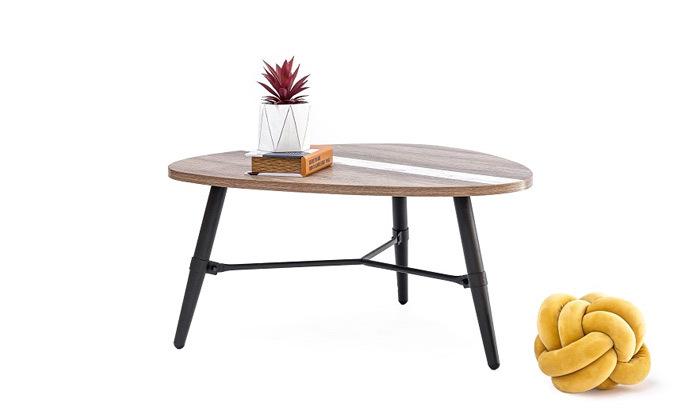 3 שולחן סלון בצורת טיפה