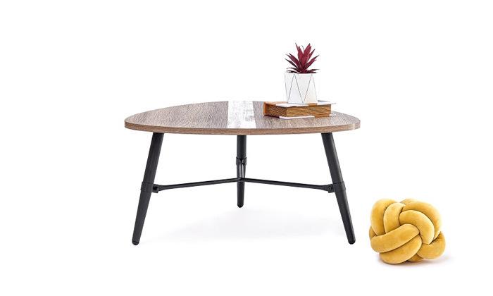 4 שולחן סלון בצורת טיפה