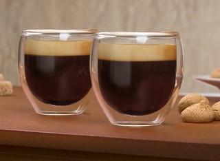 6 כוסות אספרסו עם דופן כפולה