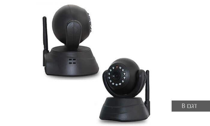 4 מצלמת אבטחה IP עם התראות למייל או לסמארטפון