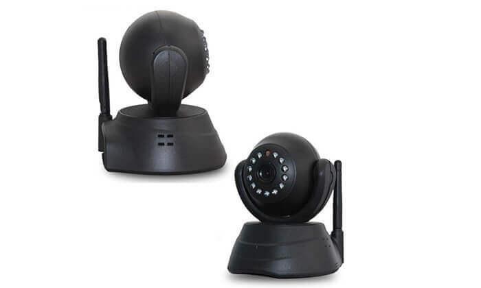 5 מצלמת אבטחה IP עם התראות למייל או לסמארטפון