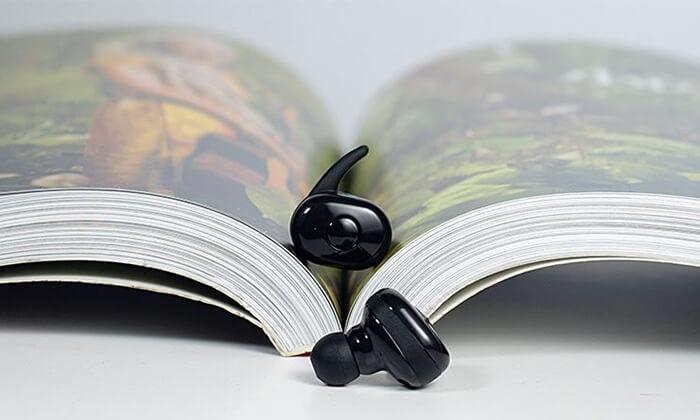 3 אוזניות בלוטוס של TWS
