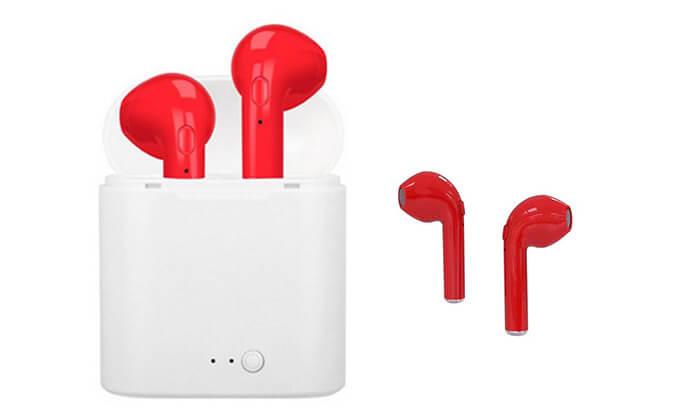 8 אוזניות Bluetooth אלחוטיות לאימון גופני