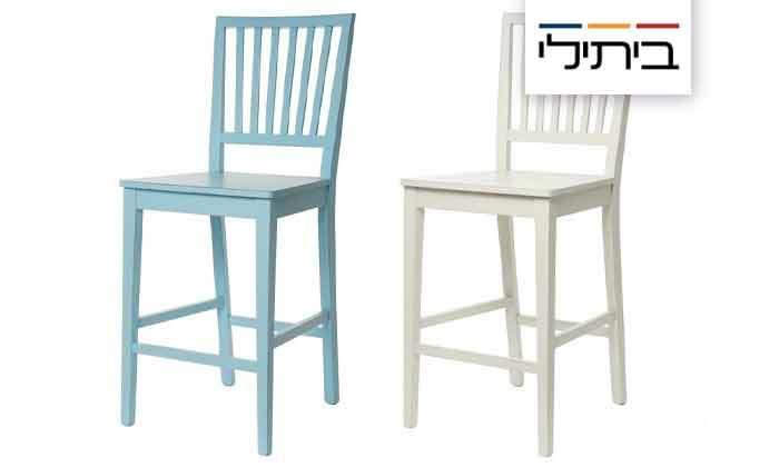 2 כיסא בר של ביתילי דגם אסיינדה, משלוח חינם