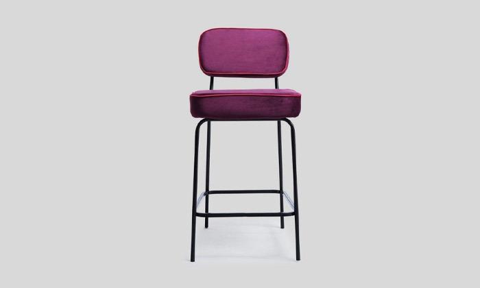 5 כיסא בר מרופד של ביתילי, דגם ניקו