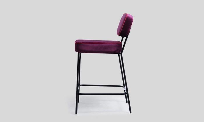 3 כיסא בר מרופד של ביתילי, דגם ניקו