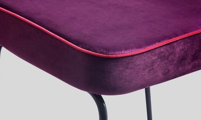 4 כיסא בר מרופד של ביתילי, דגם ניקו