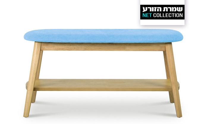 2 ספסל עם מדף נעליים 'ונציה' של שמרת הזורע | משלוח חינם