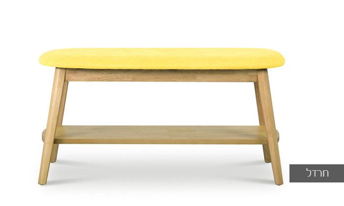 5 ספסל עם מדף נעליים 'ונציה' של שמרת הזורע | משלוח חינם