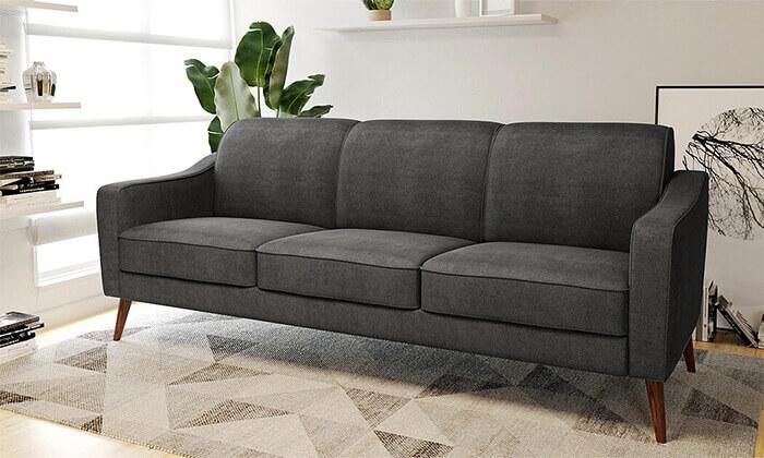 10 ספה תלת-מושבית דגם 'זולה' של שמרת הזורע