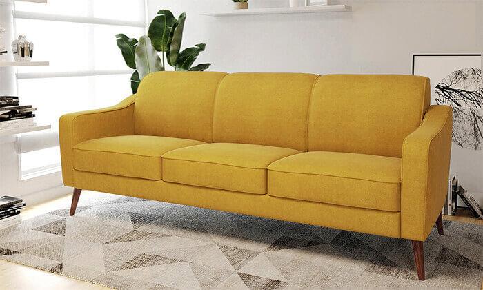 3 ספה תלת-מושבית דגם 'זולה' של שמרת הזורע