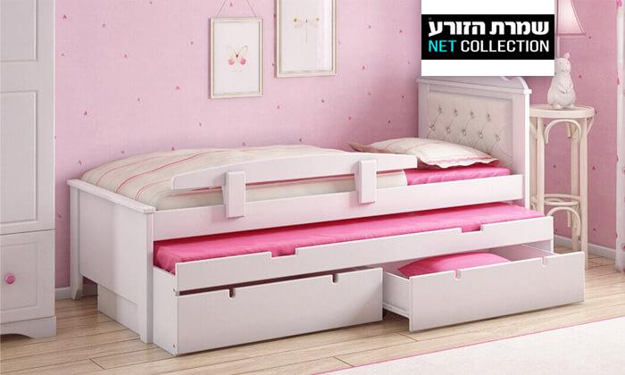 2 מיטת ילדים נפתחת דגם 'פנדורה' של שמרת הזורע