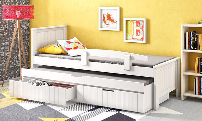 5 שמרת הזורע: מיטת ילדים נפתחת דגם אלמוג