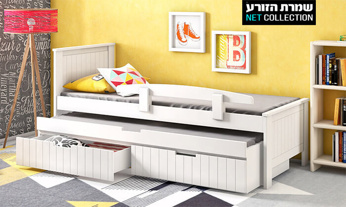 2 שמרת הזורע: מיטת ילדים נפתחת דגם אלמוג