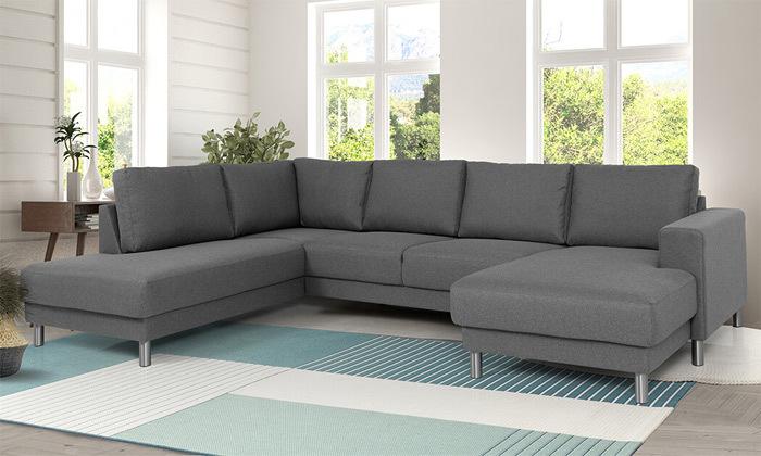 10 שמרת הזורע: ספה בצורת ח' עם 2 שזלונגים