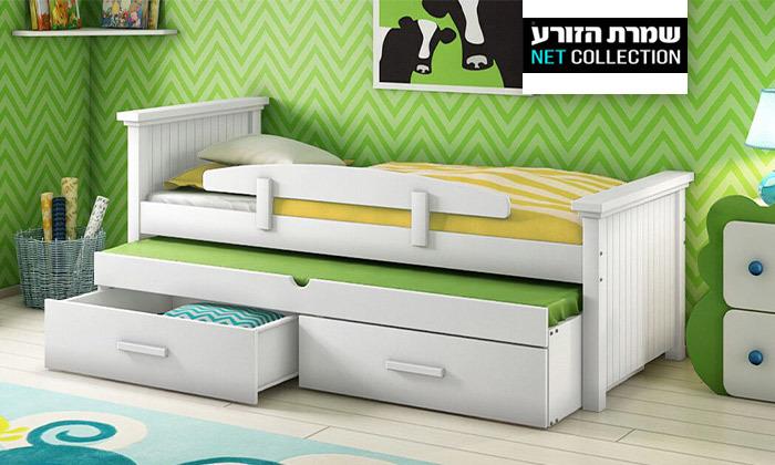 2 שמרת הזורע: מיטת ילדים עם מיטת חבר
