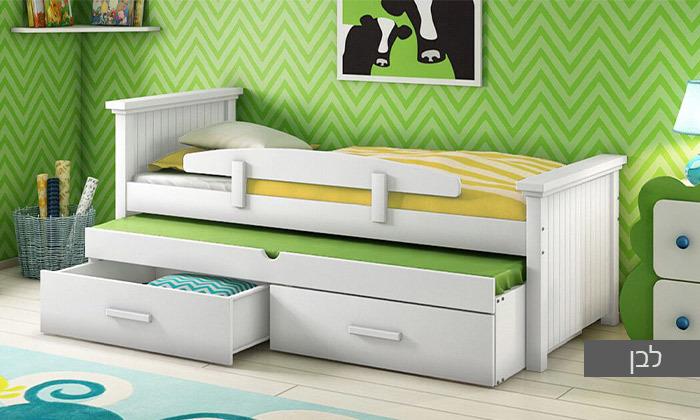 4 שמרת הזורע: מיטת ילדים עם מיטת חבר
