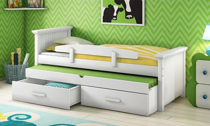 8 שמרת הזורע: מיטת ילדים עם מיטת חבר