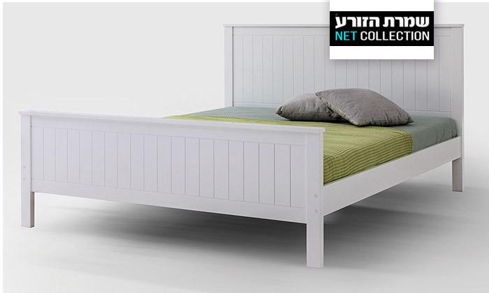 2 שמרת הזורע: מיטה עם בסיס עץ מלא