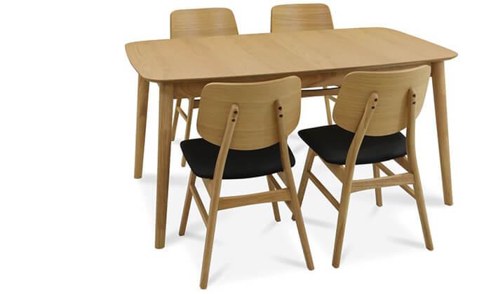 3 שמרת הזורע: פינת אוכל נפתחת עם 4 או 6 כיסאות