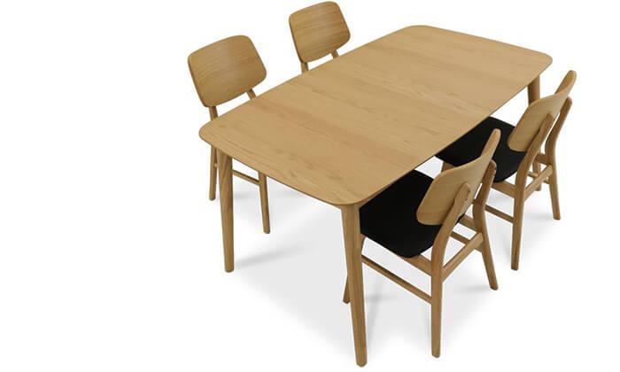 8 שמרת הזורע: פינת אוכל נפתחת עם 4 או 6 כיסאות