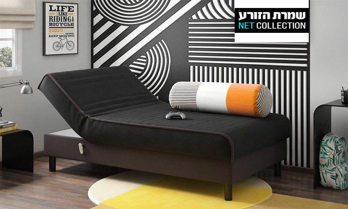 2 מיטת נוער מתכווננת חשמלית של שמרת הזורע