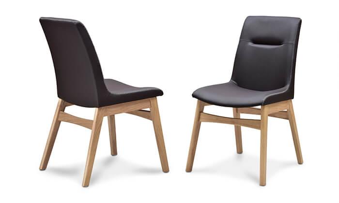 3 פינת אוכל נפתחת עם שולחן דגם מיקס וכיסאות דגם רוקי של שמרת הזורע