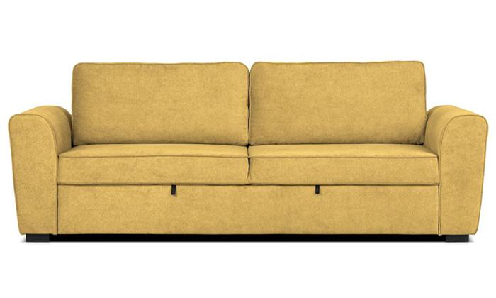 3 ספה תלת מושבית נפתחת למיטה של שמרת הזורע