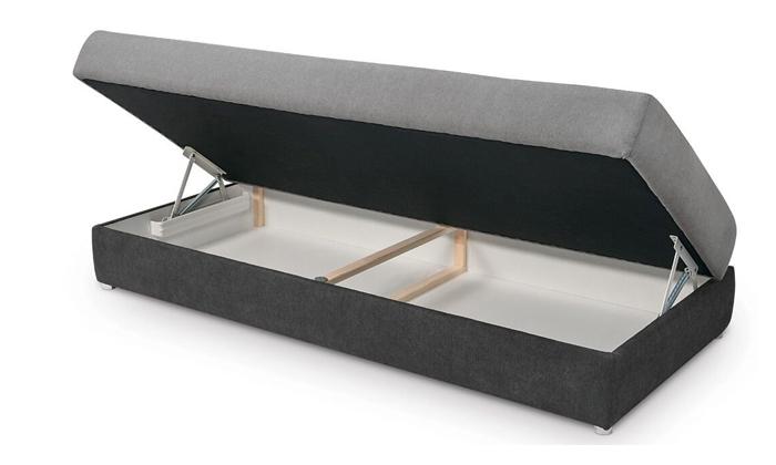 3 מיטת נוער עם ארגז מצעים דגם טרופיקל של שמרת הזורע