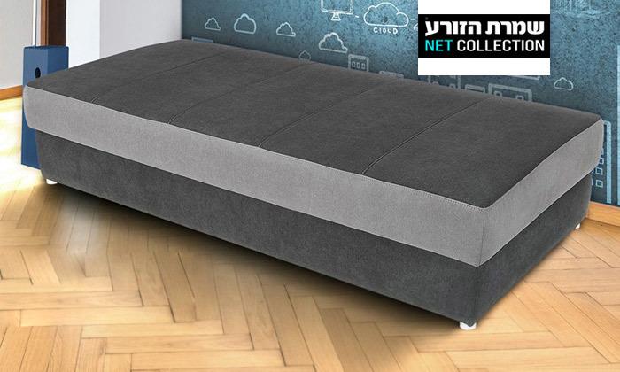 2 מיטת נוער עם ארגז מצעים דגם טרופיקל של שמרת הזורע