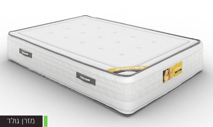 4 מיטה זוגית של שמרת הזורע, כולל אופציה להוספת מזרן