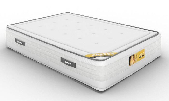 5 מיטה זוגית של שמרת הזורע, כולל אופציה להוספת מזרן