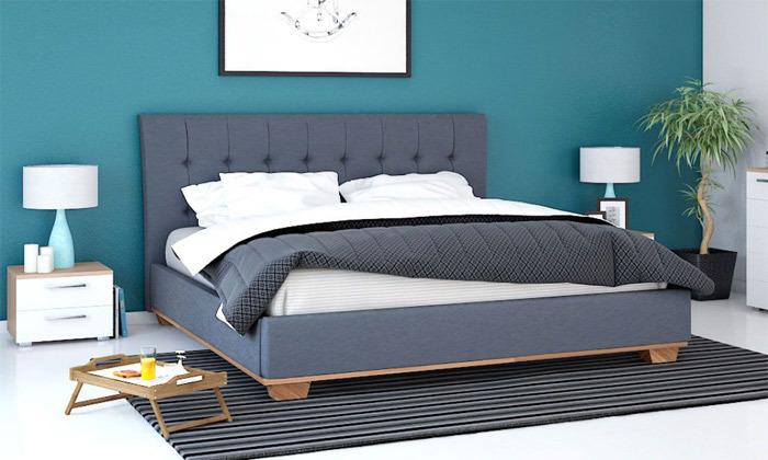 8 מיטה זוגית של שמרת הזורע, כולל אופציה להוספת מזרן
