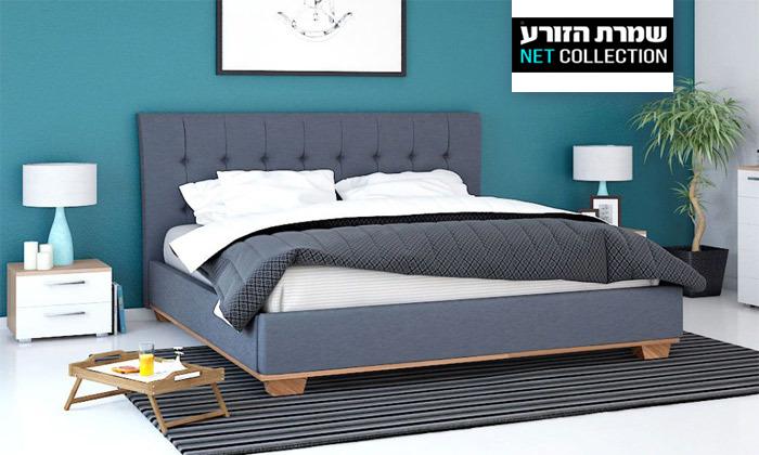 2 מיטה זוגית של שמרת הזורע, כולל אופציה להוספת מזרן