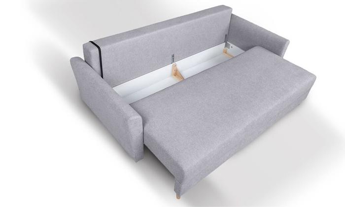 5 ספה תלת-מושבית נפתחת דגם טורינו של שמרת הזורע