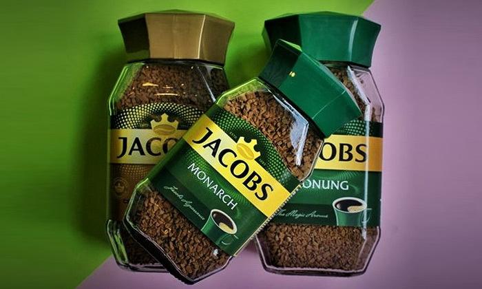 3 מארז 4 צנצנות קפה ג'ייקובס JACOBS, משלוח חינם