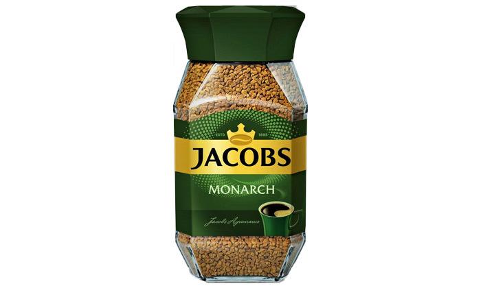 4 מארז 4 צנצנות קפה ג'ייקובס JACOBS, משלוח חינם