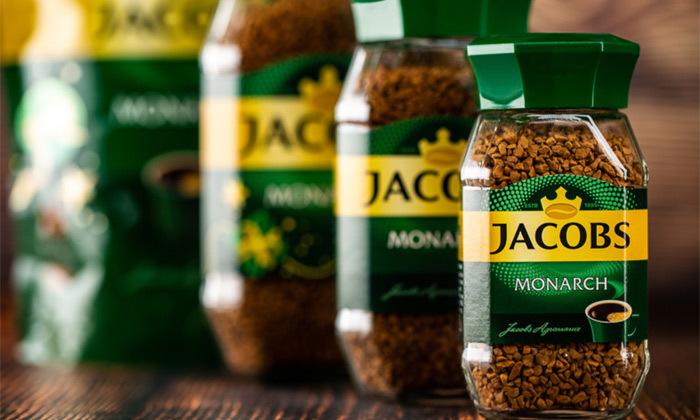 7 מארז 4 צנצנות קפה ג'ייקובס JACOBS, משלוח חינם