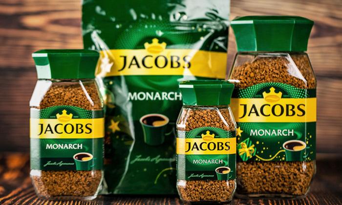2 מארז 4 צנצנות קפה ג'ייקובס JACOBS, משלוח חינם