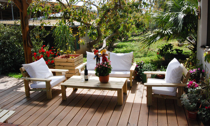 4 פינת ישיבה לגינה