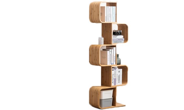 2 כוננית ספרים מבמבוק