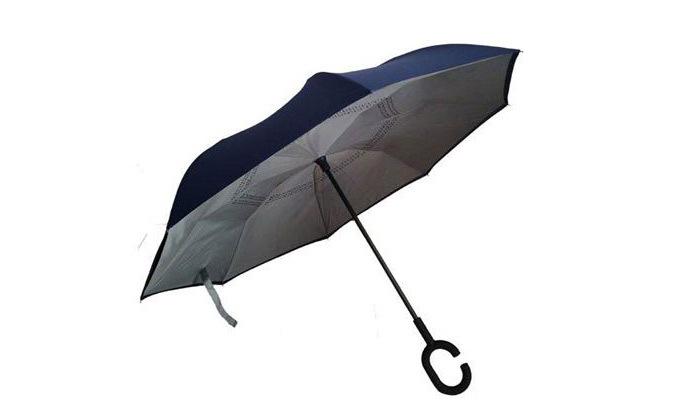 3 שתי מטריות עם סגירה הפוכה