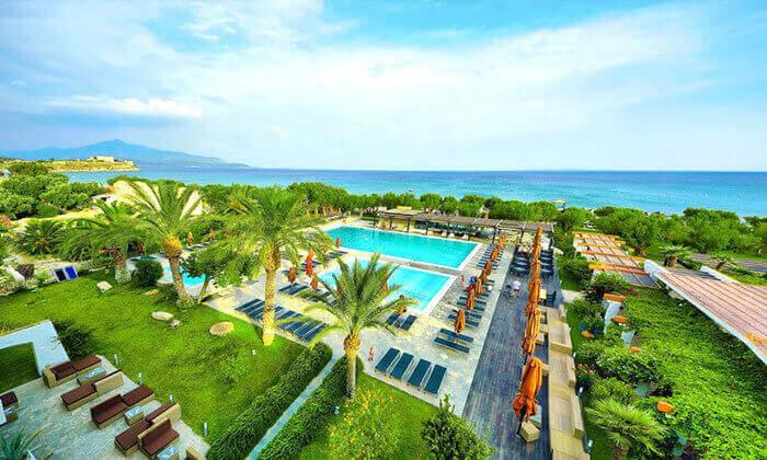 2 חופשת 4/5 לילות בסאמוס, יוון: מלון 5 כוכבים עם חוף פרטי