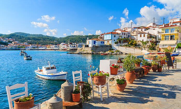 4 חופשת 4/5 לילות בסאמוס, יוון: מלון 5 כוכבים עם חוף פרטי