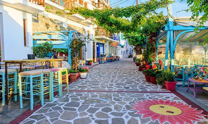 5 חופשת 4/5 לילות בסאמוס, יוון: מלון 5 כוכבים עם חוף פרטי
