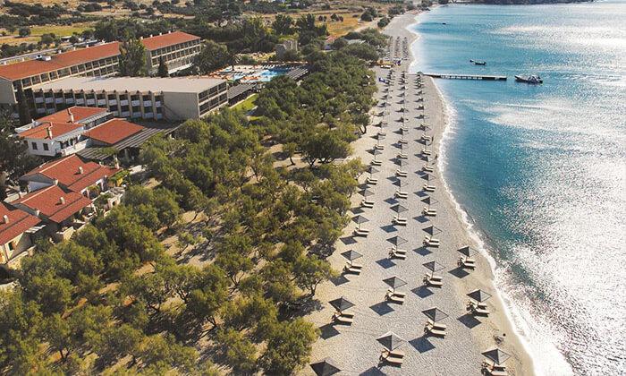 6 חופשת 4/5 לילות בסאמוס, יוון: מלון 5 כוכבים עם חוף פרטי