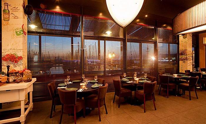 5 ארוחת בשרים זוגית עם יין וקינוח במסעדת פאפאגאיו, הרצליה