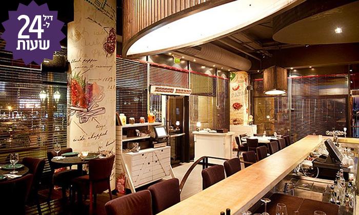 7 דיל ל-24 שעות: ארוחת בשרים זוגית עם יין וקינוח במסעדת פאפאגאיו, הרצליה