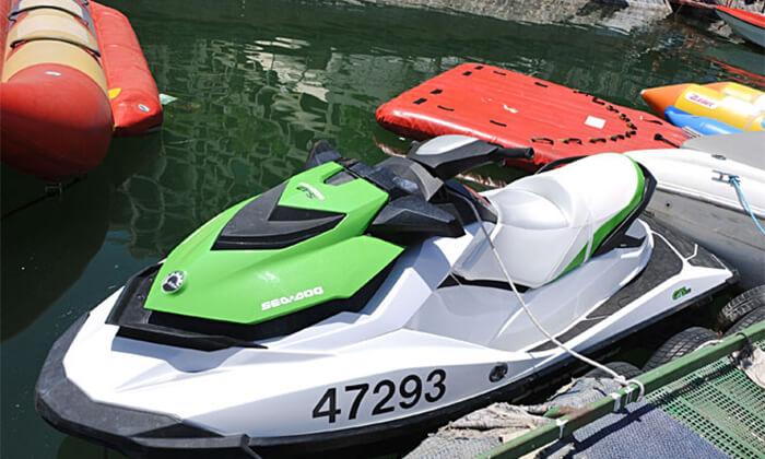 3 שייט זוגי על אופנוע ים ב'עולם המים' בכנרת